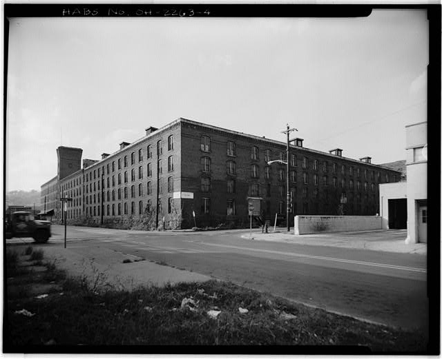 4.  VIEW NORTHWEST, SOUTH (FRONT) AND EAST ELEVATIONS - American Oak Leather Company, 1220-1236 Kenner Street, Cincinnati, Hamilton County, OH