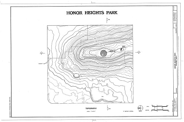 HABS OKLA,51-MUSK,2- (sheet 3 of 7) - Honor Heights Park, Agency Hill, Muskogee, Muskogee County, OK