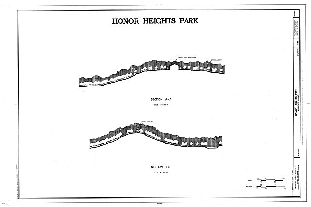 HABS OKLA,51-MUSK,2- (sheet 4 of 7) - Honor Heights Park, Agency Hill, Muskogee, Muskogee County, OK