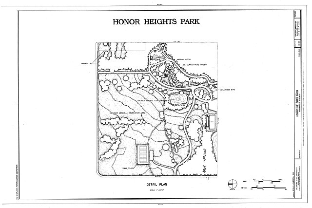 HABS OKLA,51-MUSK,2- (sheet 6 of 7) - Honor Heights Park, Agency Hill, Muskogee, Muskogee County, OK