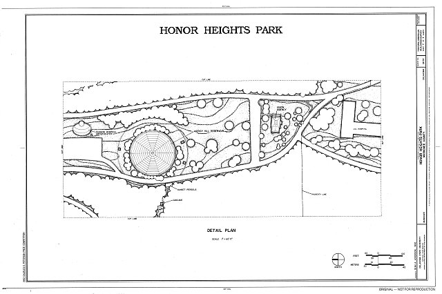 HABS OKLA,51-MUSK,2- (sheet 7 of 7) - Honor Heights Park, Agency Hill, Muskogee, Muskogee County, OK