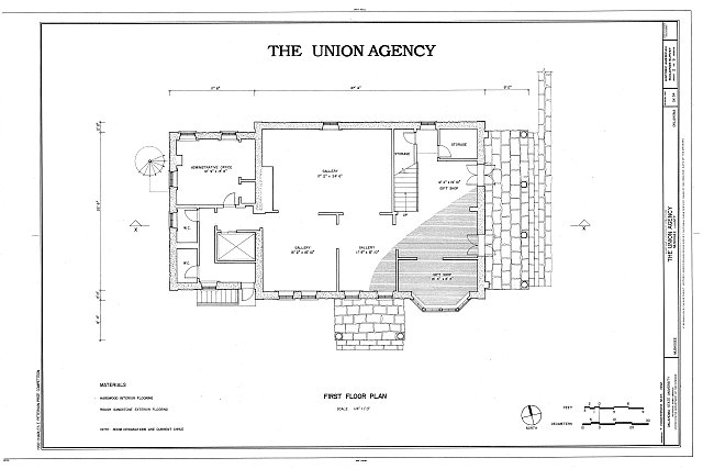 HABS OKLA,51-MUSK,3- (sheet 2 of 9) - The Union Agency, Honor Heights Park, Muskogee, Muskogee County, OK