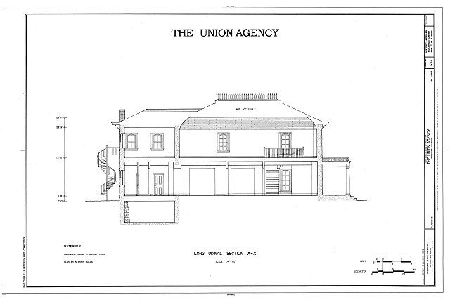 HABS OKLA,51-MUSK,3- (sheet 7 of 9) - The Union Agency, Honor Heights Park, Muskogee, Muskogee County, OK