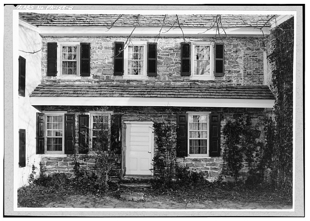 2.  NORTH SIDE, CENTER SECTION - Pusey House, Woodview Road (London Grove Township), Chatham, Chester County, PA