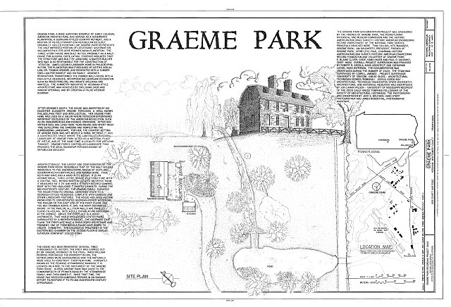 HABS PA,46-HORM,1- (sheet 1 of 12) - Graeme Park, 859 County Line Road, Horsham, Montgomery County, PA