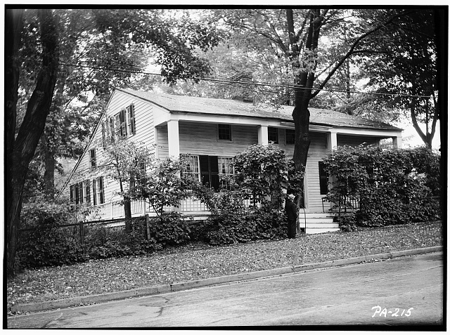 1.  Historic American Buildings Survey, Stanley Jones, Photographer October 6, 1936 SOUTH ELEVATION. - Sylvanus Mulford House, 65 Church Street, Montrose, Susquehanna County, PA