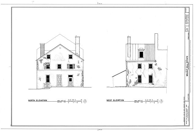 HABS PA,15-VALFO,2- (sheet 4 of 6) - Walnut Hill Estate, East Bank of Schuylkill River, Valley Forge, Chester County, PA