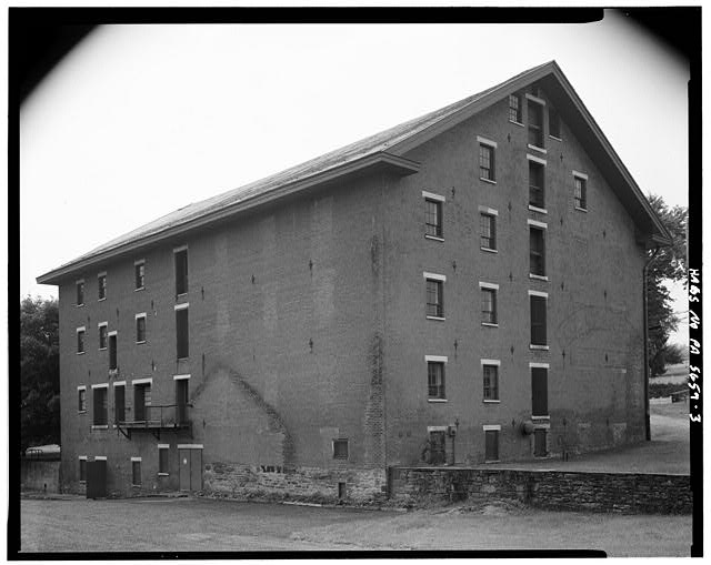3.  EAST AND NORTH SIDES - A. & H.S. Overholt Company Distillery, Frick Avenue, West Overton, Westmoreland County, PA