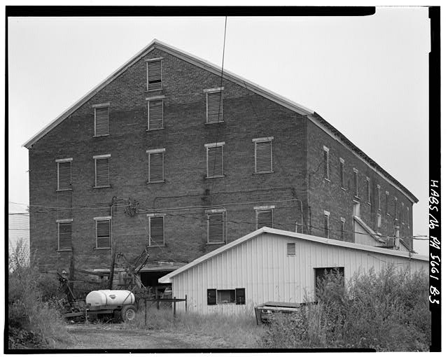 3.  SOUTH AND EAST SIDES - Abraham Overholt Farm, Large Barn, Frick Avenue, West Overton, Westmoreland County, PA