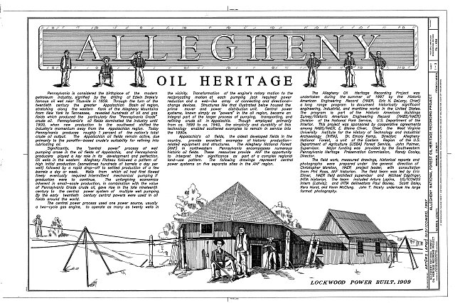 HAER PA,62-WAR,3- (sheet 1 of 3) - Allegheny National Forest Oil Heritage, Warren, Warren County, PA