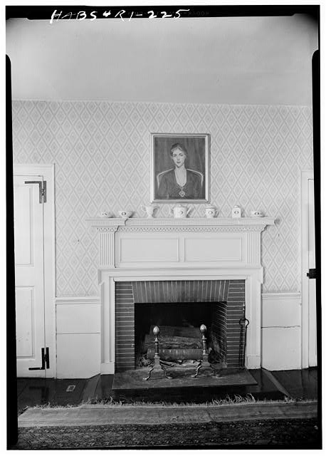 2.  Historic American Buildings Survey, Laurence E. Tilley, Photographer May, 1958 FIREPLACE IN DINING ROOM. - William L. Brown House, 23 John Street, Providence, Providence County, RI
