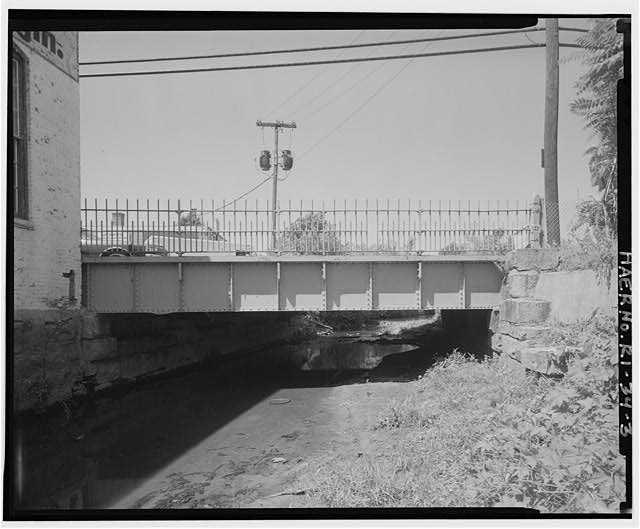 3.  VIEW LOOKING WEST TOWARD BRIDGE - Charles Street Bridge, Spanning West River on Charles Street, Providence, Providence County, RI