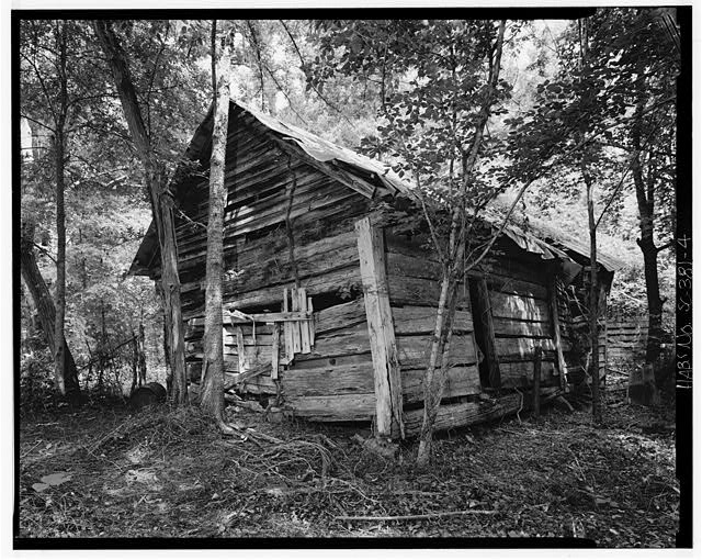 4.  South and east sides - Featherstone Tenant Farm, County Road 81, Lowndesville, Abbeville County, SC