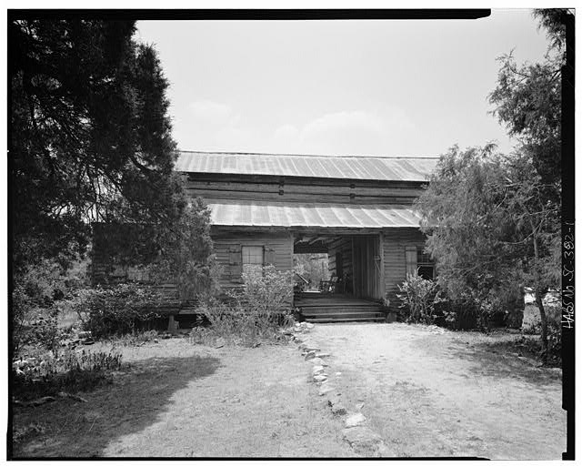 1.  North front - Caldwell-Hutchison Farm, County Road 93, Lowndesville, Abbeville County, SC