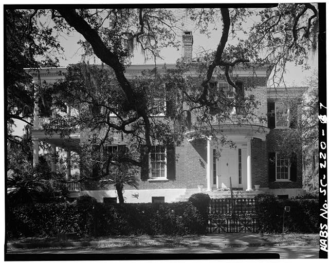 7.  EAST SIDE - Colonel Edward Means House, 604 Pinckney Street, Beaufort, Beaufort County, SC