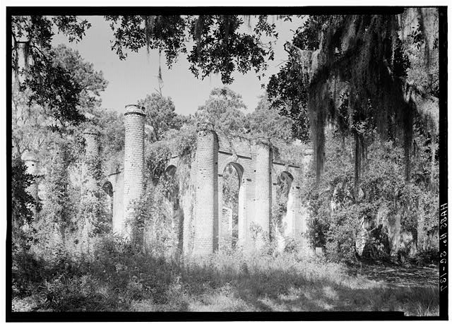 - Prince William's Parish Church (Ruins), Sheldon, Beaufort County, SC