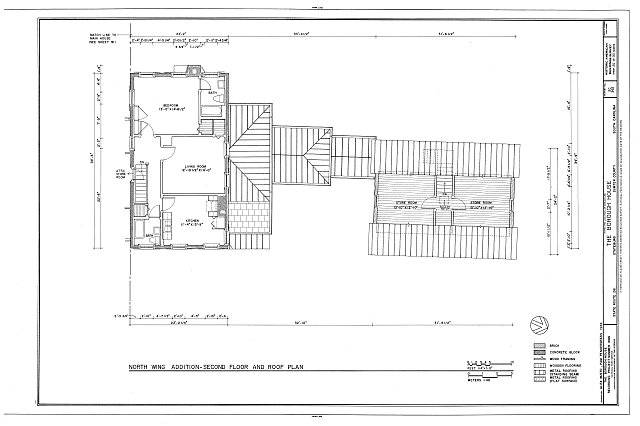 HABS SC,43-STATBU,1- (sheet 20 of 30) - Borough House, West Side State Route 261, about .1 mile south side of junction with old Garners Ferry Road, Stateburg, Sumter County, SC