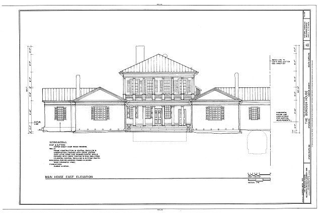 HABS SC,43-STATBU,1- (sheet 21 of 30) - Borough House, West Side State Route 261, about .1 mile south side of junction with old Garners Ferry Road, Stateburg, Sumter County, SC