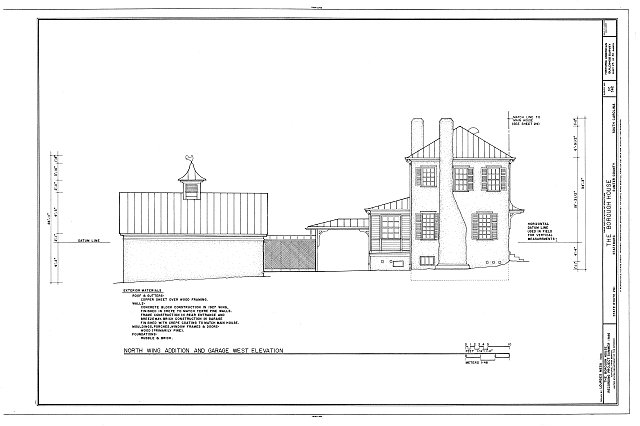 HABS SC,43-STATBU,1- (sheet 23 of 30) - Borough House, West Side State Route 261, about .1 mile south side of junction with old Garners Ferry Road, Stateburg, Sumter County, SC