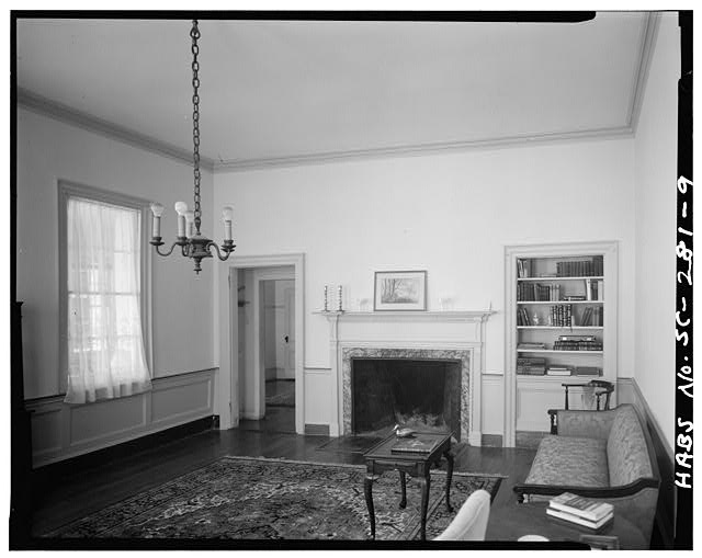 9.  SOUTHWEST ROOM, FIRST FLOOR, NORTH WALL - John Cuthbert House, 1203 Bay Street, Beaufort, Beaufort County, SC