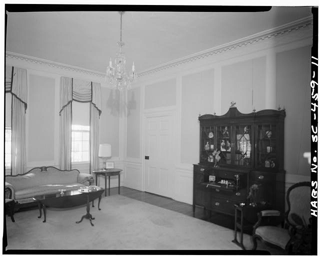 11.  ROOM B, FRONT SECTION OF FIRST FLOOR - Robert Means House, 1207 Bay Street, Beaufort, Beaufort County, SC