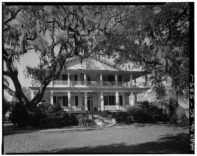 1.  SOUTH (FRONT) ELEVATION - Tidalholm, 1 Laurens Street, Beaufort, Beaufort County, SC