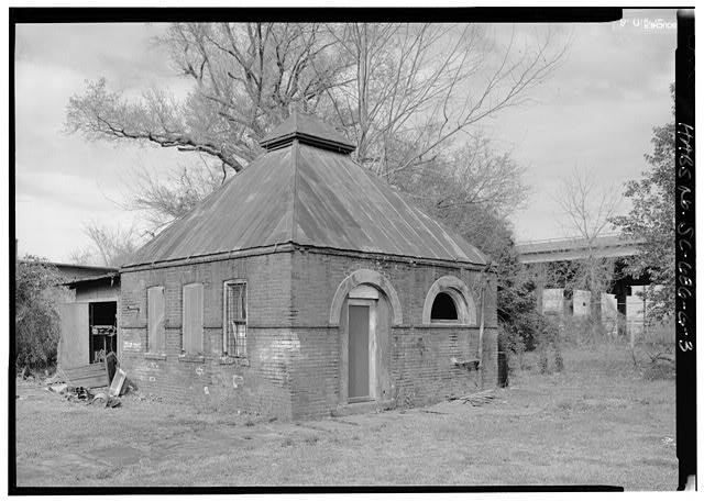 3.  GENERAL VIEW OF ENGINE HOUSE FROM SOUTH - William Enston Home, Engine House, 900 King Street, Charleston, Charleston County, SC