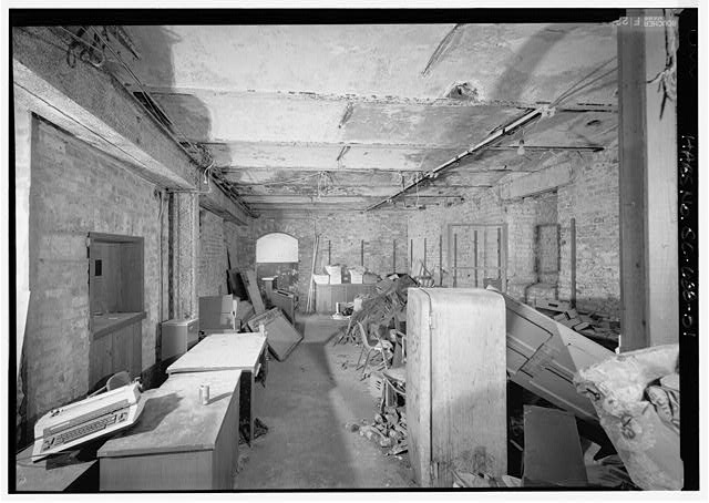 51.  FIRST FLOOR, STORAGE ROOM FROM EAST - Charleston County Jail, 21 Magazine Street, Charleston, Charleston County, SC