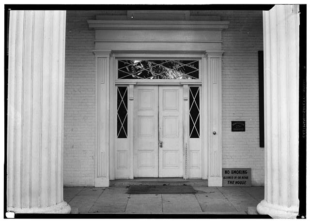 3.  Historic American Buildings Survey, W. Jeter Eason- Deputy District Officer, Photographer November 21, 1936 MAIN ENTRANCE FRONT ELEVATION. - The Hermitage, U.S. Highway 70 North (4580 Rachel's Lane), Nashville, Davidson County, TN
