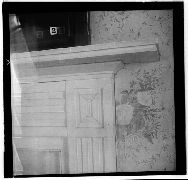39.  Historic American Buildings Survey, W. Jeter Eason- Deputy District Officer, Photographer November 21, 1936 MANTLE IN GUEST CHAMBER, 2ND FLOOR. - The Hermitage, U.S. Highway 70 North (4580 Rachel's Lane), Nashville, Davidson County, TN