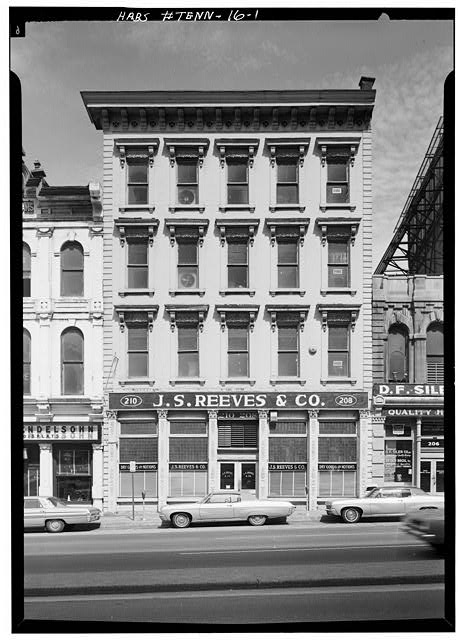 1.  South front - Morgan-Reeves Building, 208-210 Public Square, Nashville, Davidson County, TN