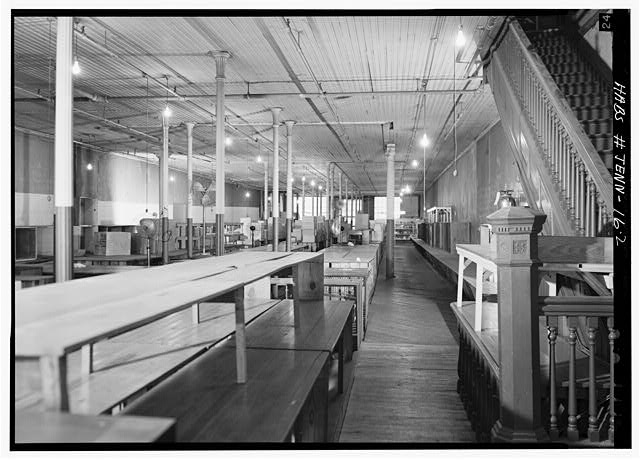 2.  Second floor, interior, looking north - Morgan-Reeves Building, 208-210 Public Square, Nashville, Davidson County, TN