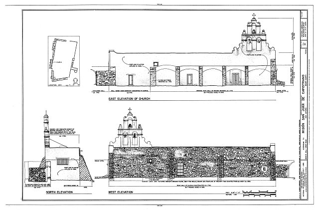HABS TEX,15-SANT.V,3- (sheet 17 of 17) - Mission San Juan de Capistrano, Berg's Mill-Graf Road, San Antonio, Bexar County, TX
