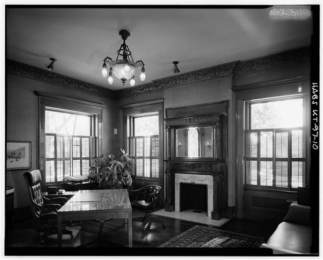 10.  INTERIOR, FIRST FLOOR, MUSIC ROOM (SOUTHWEST CORNER ROOM), LOOKING SOUTHWEST - Keith-Brown House, 529 East South Temple, Salt Lake City, Salt Lake County, UT
