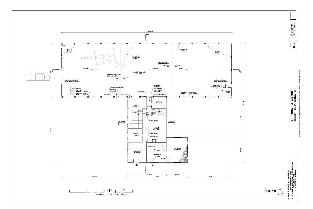 23 harmonious automotive shop plans home building plans for Car floor plan
