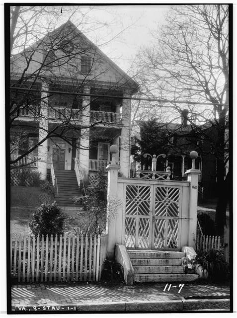 - Stuart-Robertson House (Entrance Gates), 120 Church Street, Staunton, Staunton, VA