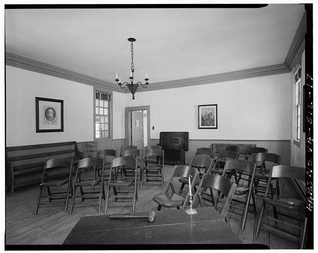 17.  MEETING ROOM, SECOND FLOOR, LOOKING TO SOUTHWEST CORNER - Gloucester Women's Club, U.S. Route 17 & State Route 14, Gloucester, Gloucester County, VA