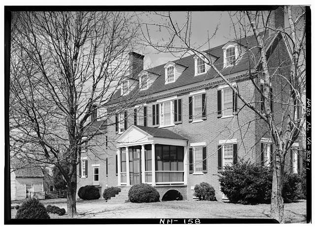1.  MAIN FACADE - Cessford, U.S. Route 13, Eastville, Northampton County, VA