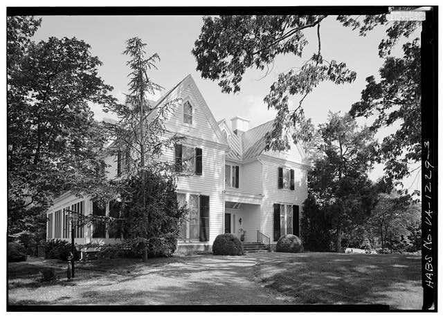 3.  WEST FRONT FROM NORTHWEST - Kenmuir (Main House), Route 613, Trevilians, Louisa County, VA
