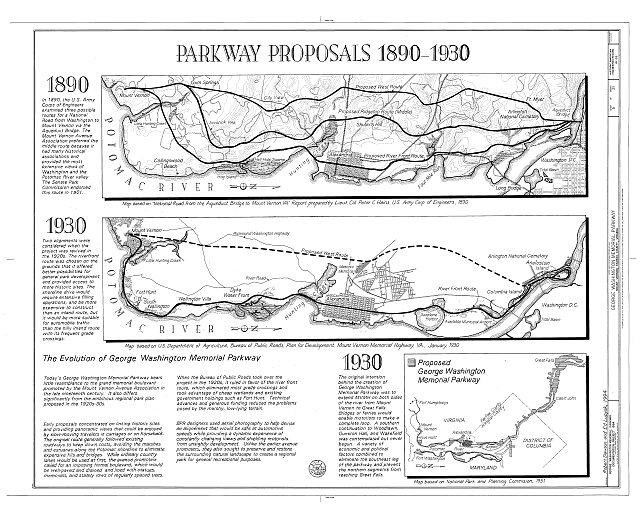 HAER VA,30-____,8- (sheet 5 of 21) - George Washington Memorial Parkway, Along Potomac River from McLean to Mount Vernon, VA, Mount Vernon, Fairfax County, VA