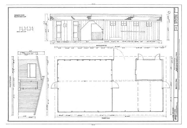 HABS VA-1379 (sheet 11 of 15) - Oakleigh Farm, Off of West Rio Road, Charlottesville, Charlottesville, VA
