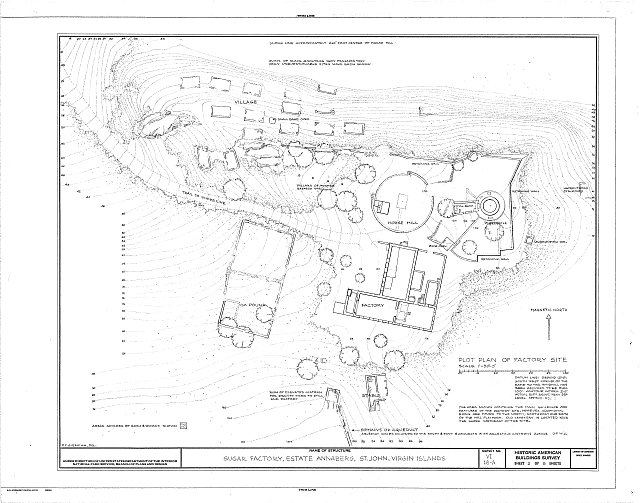 HABS VI,2-MABA,1-A- (sheet 2 of 5) - Estate Annaberg, Sugar Factory, Adrian, St. John, VI