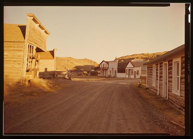 GENERAL VIEW OF MAIN STREET - South Pass City, General View, South Pass City, Fremont County, WY