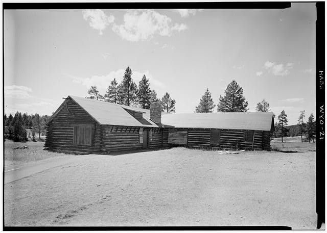 - Norris Soldiers Station, Norris Campgrounds & Gibbon River vicinity, Lake, Teton County, WY
