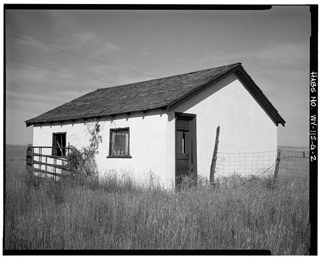 2.  WEST SIDE AND SOUTH REAR - Dunlap Ranch, Garage, Gillette, Campbell County, WY