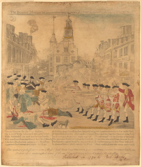 boston massacre research paper