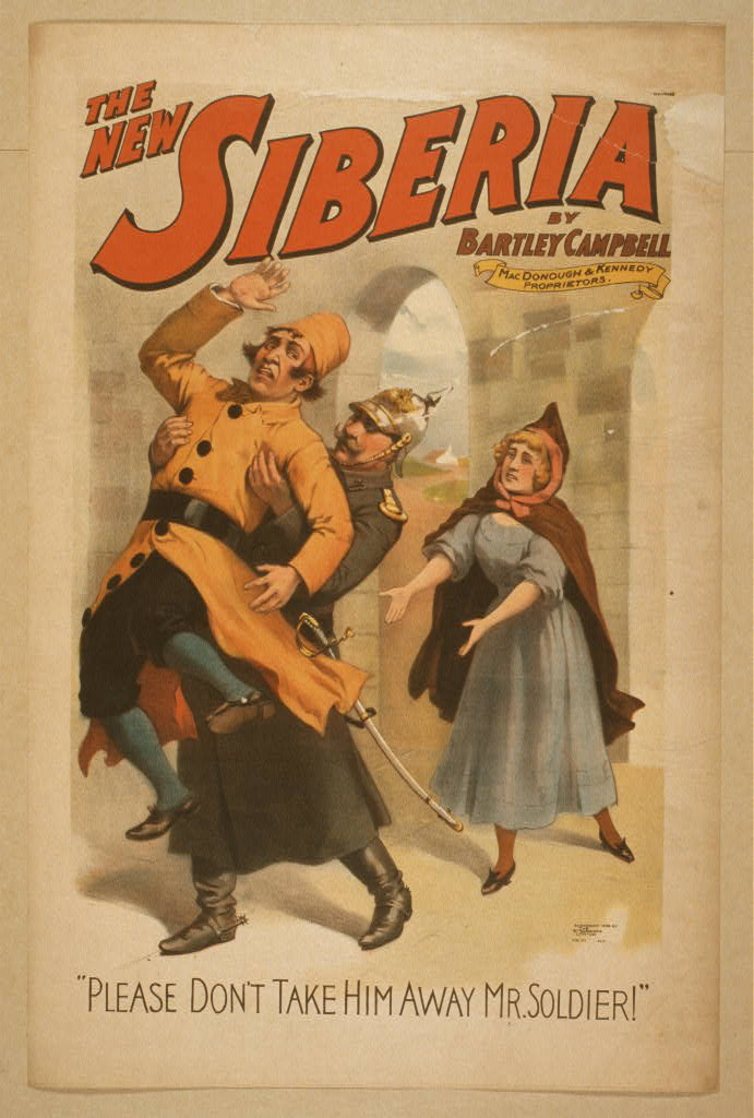 Library of Congress public domain image of show poster on The Theater Community TheTheaterCommunity.com Your source for Central Wisconsin show dates and times and upcoming auditions