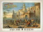 Kiralfy Bros' Sieba and the 7 ravens (poster)