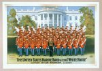 The United States Marine Band at the White House (poster)