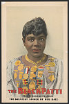 The Black Patti, Mme. M. Sissieretta Jones the greatest singer of her race (poster)